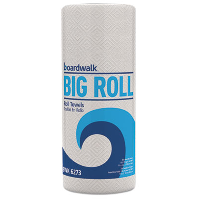 Boardwalk Perforated Paper Towel Rolls 2-Ply 11 x 8.5 White 250/Roll 12 Rolls/Carton