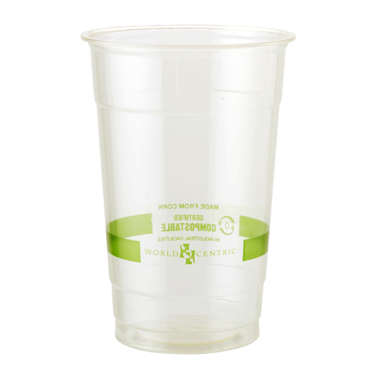 WCT Ingeo 20 oz Clear Cup Compostable 1,000/carton