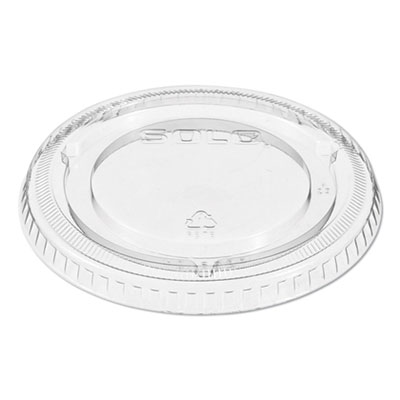 Dart 662TP Non-Vented Lid for UltraClear PET Cups 10/100