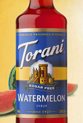 Torani Sugar Free Watermelon Syrup 750 ml