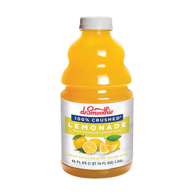 Dr. Smoothie 100% Crushed Lemonade 6/46oz