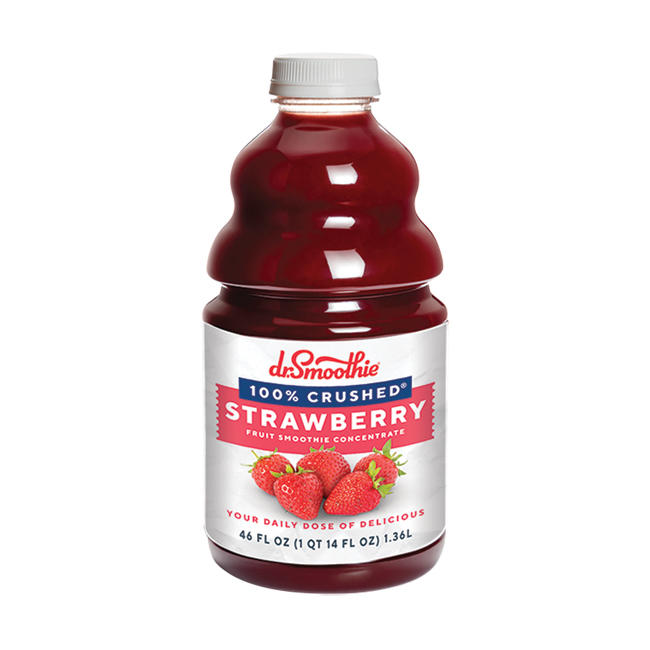 Dr. Smoothie 100% Crushed Strawberry 6/46oz