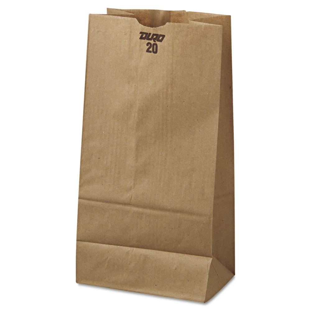 Duro Bundle Paper Bag Kraft 20# - 500 ct