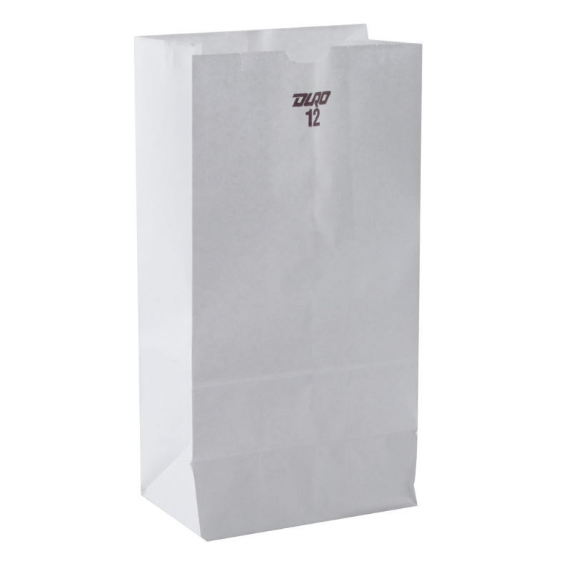 Grocery Bag 12# White 500ct (51032)