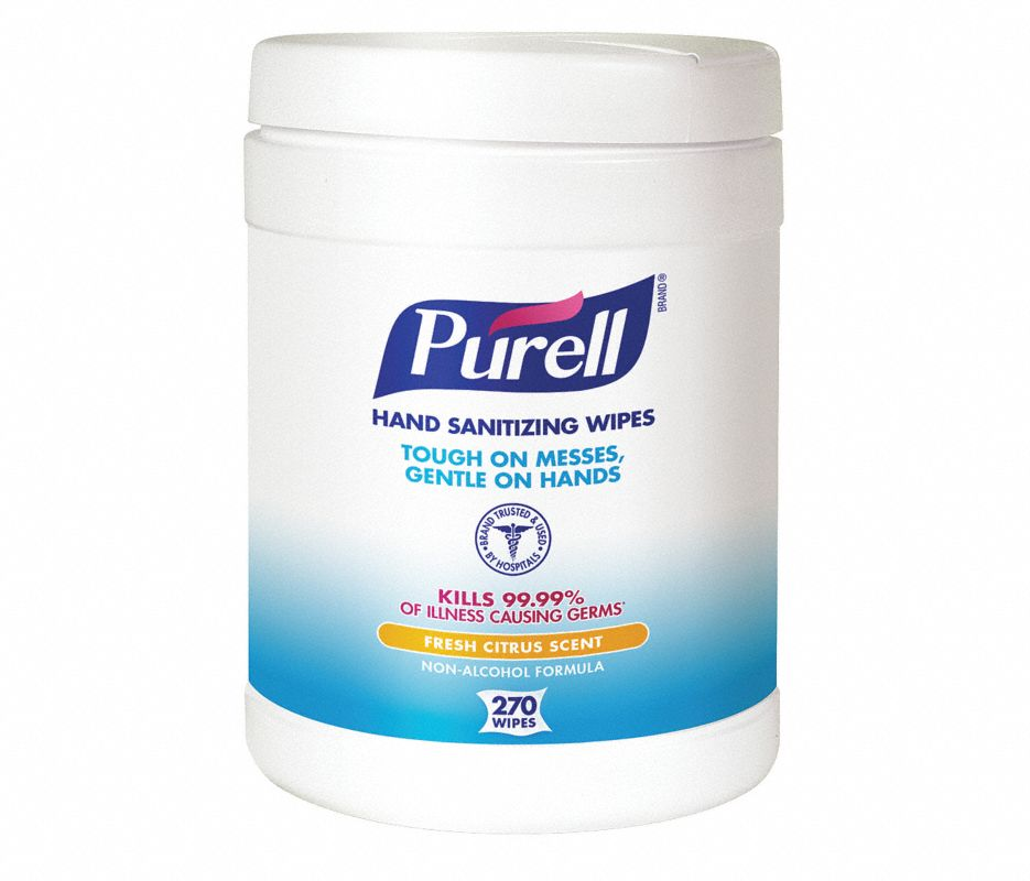 PURELL® Hand Sanitizing Wipes 270 Count Eco-Fit Canister