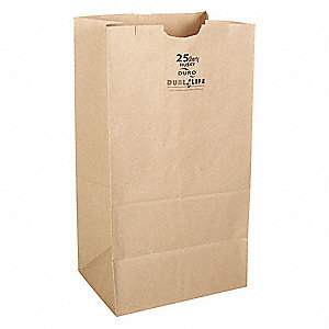 18-110085 - Duro 8# Kraft Grocery Bag (500 ct.)