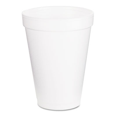 18-720170 - Dart 12 oz White Foam Cup 12J16 40/25