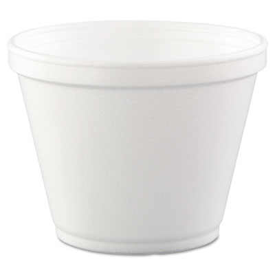 18-214570 - Dart 12 oz. White Foam Food Container 12SJ20 20/25