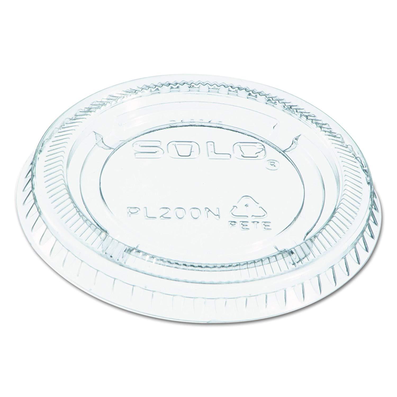 Dart 1.5-2.5 oz Portion Cup Lids 200PCL - 2 500 ct