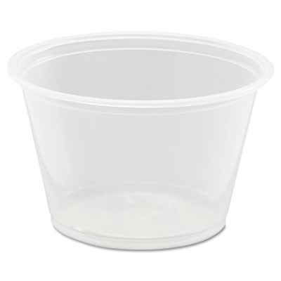 18-400PC - Dart 400PC Souffle' Cup 4oz Clear (2,500 ct.)
