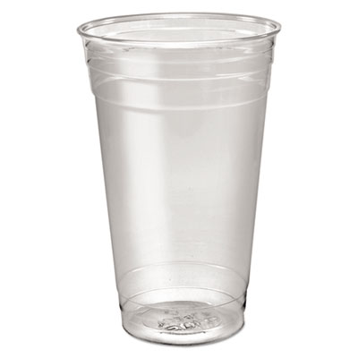 Dart TD24 Ultra Clear Cup PETE 24 oz 12/50 ct