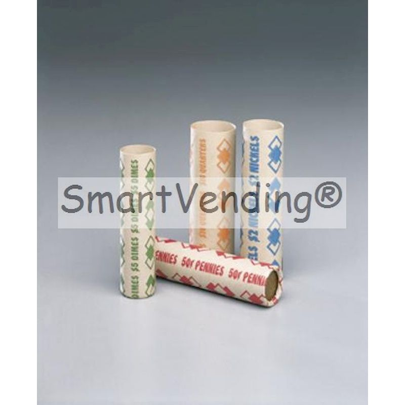 Preformed Quarter Coin Speed Wrappers (.25) 1,000 ct.