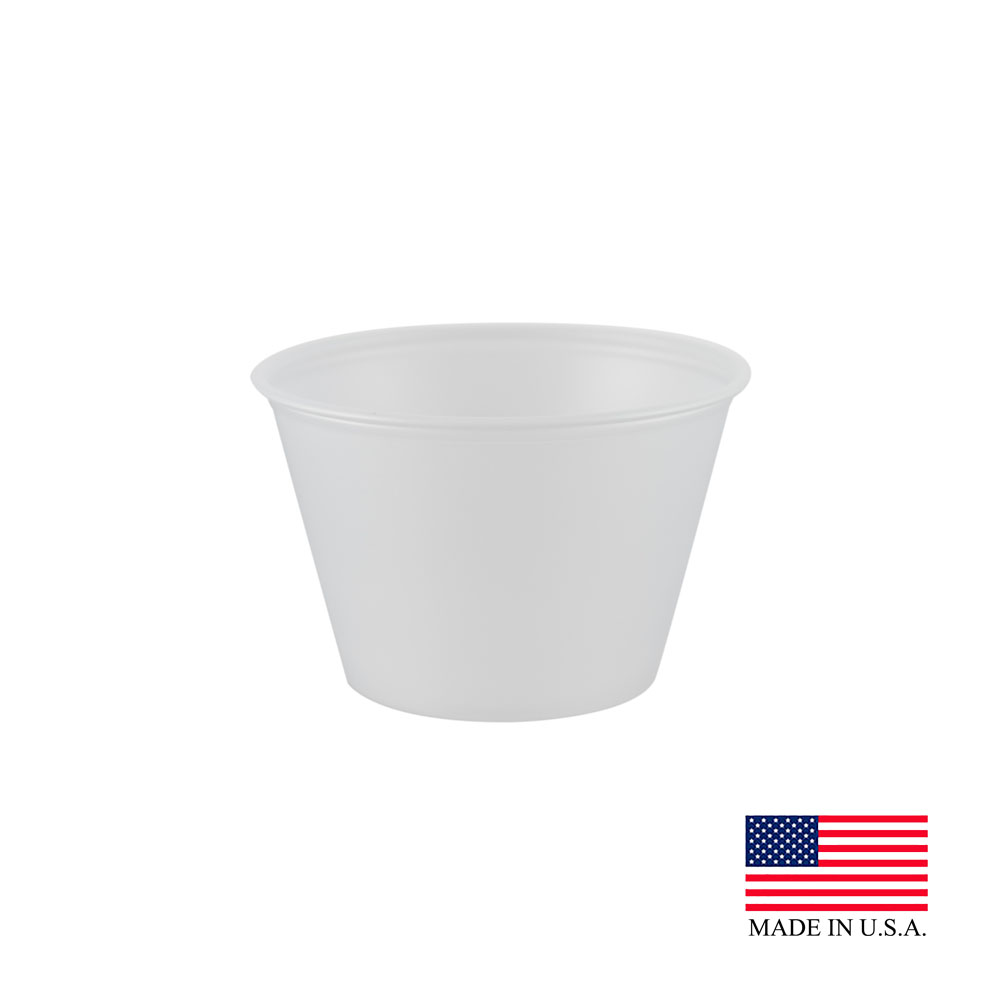 Dart Souffle' Cup 4oz Clear (2 500 ct.)