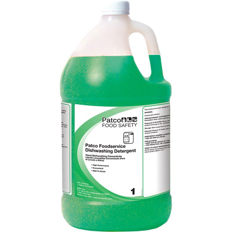 PATCO Premium Dish Detergent Gallon (128 oz)