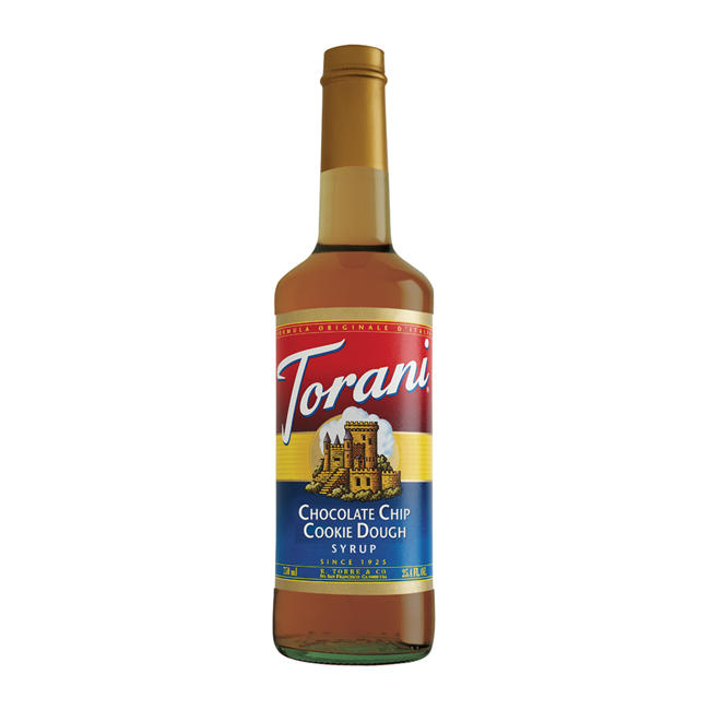 Torani Chocolate Chip Cookie Dough Syrup 750 ml