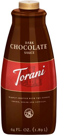 Torani Dark Chocolate Sauce 64oz