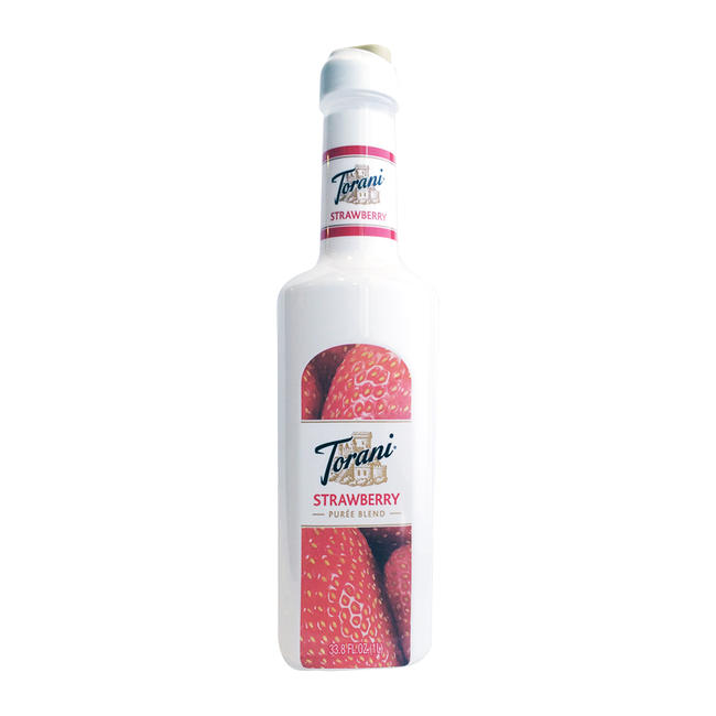 Torani Strawberry Puree Blend 1 lit