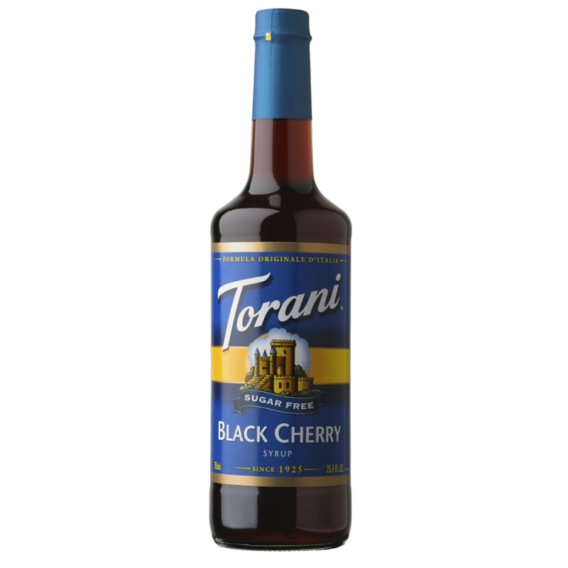 Torani Sugar Free Black Cherry Syrup 750 ml