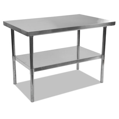 Alera NSF Approved Stainless Steel Foodservice Prep Table 48 x 30 x 35h ALEXS4830