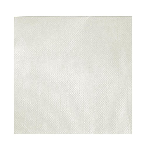 18-11081240000 - Paterson 9x9 1ply White Beverage Napkin 4000/cs