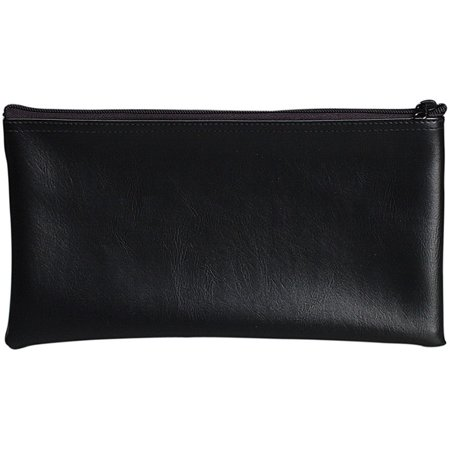 68-04621 - Black Vinyl Zipper Bag 11 x 6