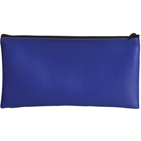 68-04620 - Blue Vinyl Zipper Bag 11 x 6