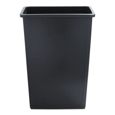 Boardwalk Slim Waste Container 23 gal Gray Plastic