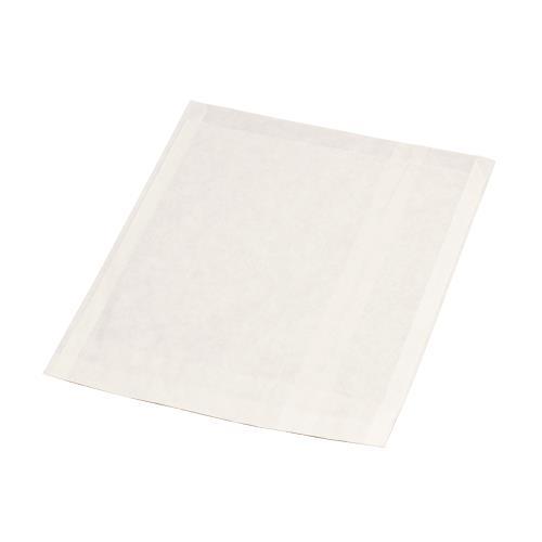"BPG White Dry Waxed Sandwich Bag 6""x1""x6.5"" 1,000ct 704 Spilt"