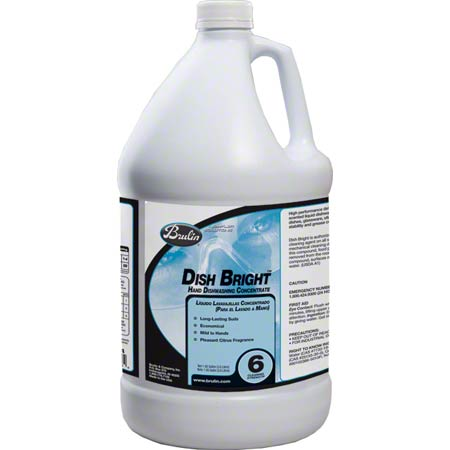 Brulin Dish Bright Concentrate Gallon (128 oz)