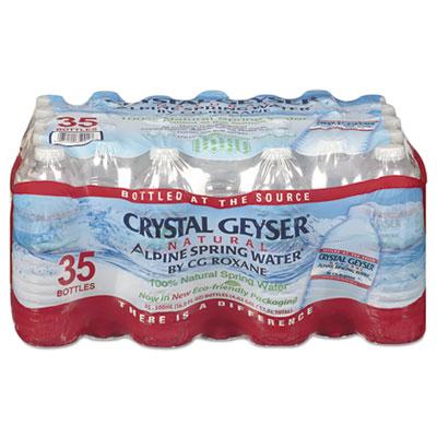 Crystal Geysor Alpine Spring Water 16.9 oz Bottle 35/Case