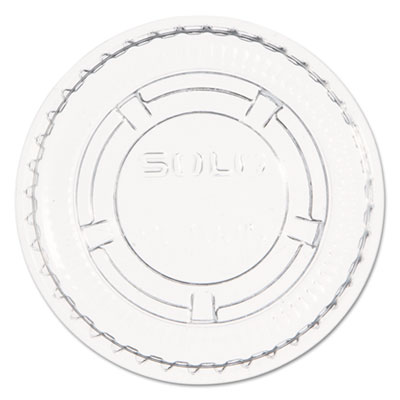 Dart 0.5-1.25 oz Portion Cup Lids PL100N 20/125