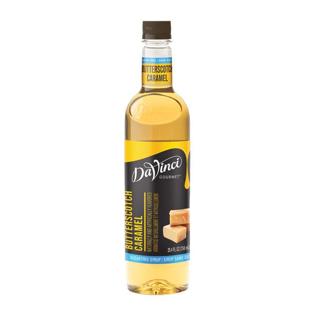 DaVinci PET Sugar Free Butterscotch Syrup 750 ml