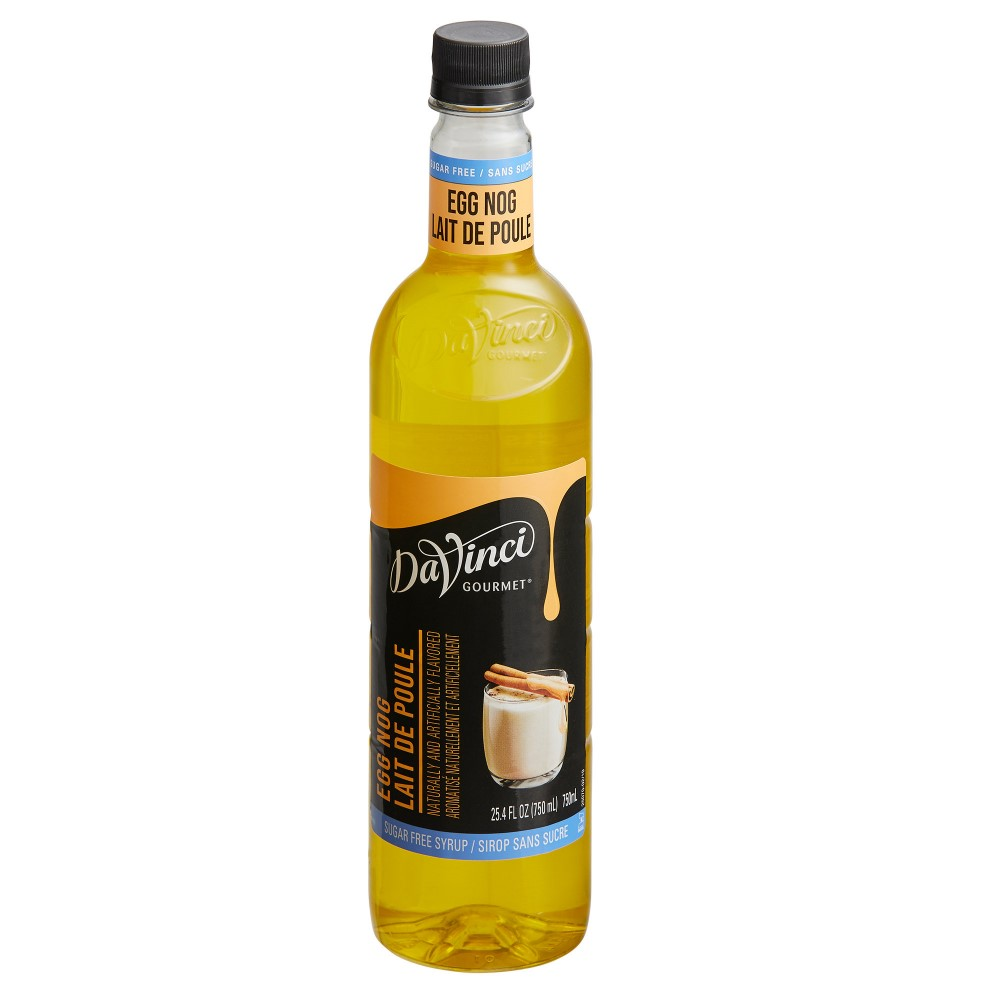 26-DV4021436 - DaVinci PET Sugar Free Egg Nog Syrup 750 ml