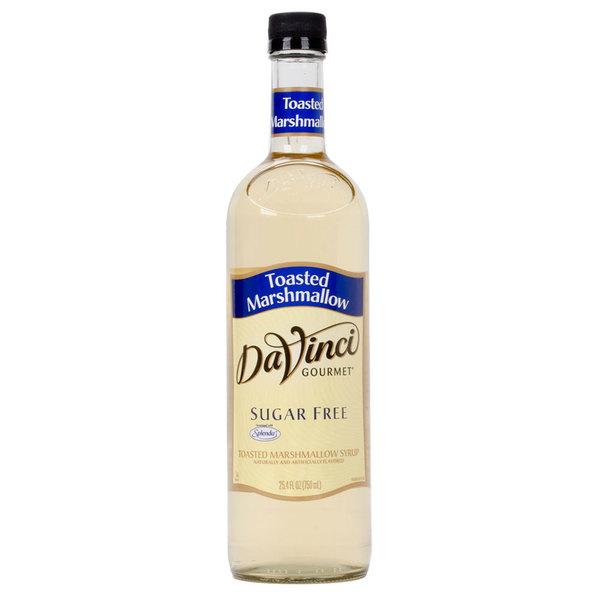 DaVinci PET Sugar Free Toasted Marshmallow Syrup 750 ml