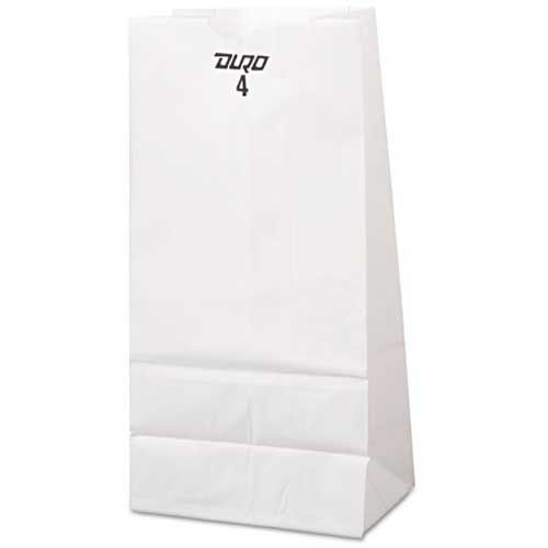 Grocery Bag 4# White 500ct