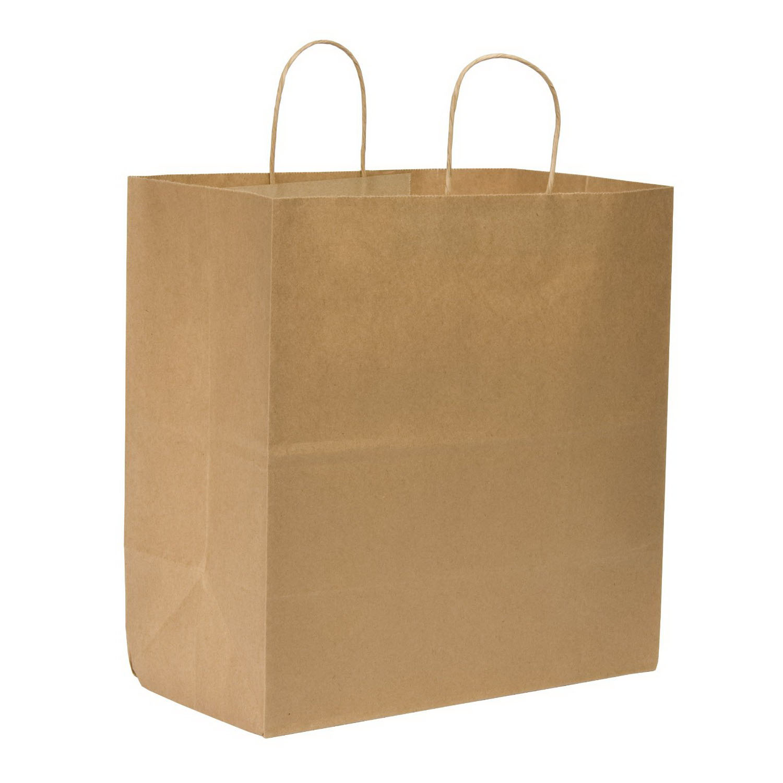 TS Handle Bag Kraft 14.4x9x16.25 - 200ct