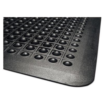 Guardian Millennium Flex Step Rubber Anti-Fatigue Mat Polypropylene 24 x 36 Black
