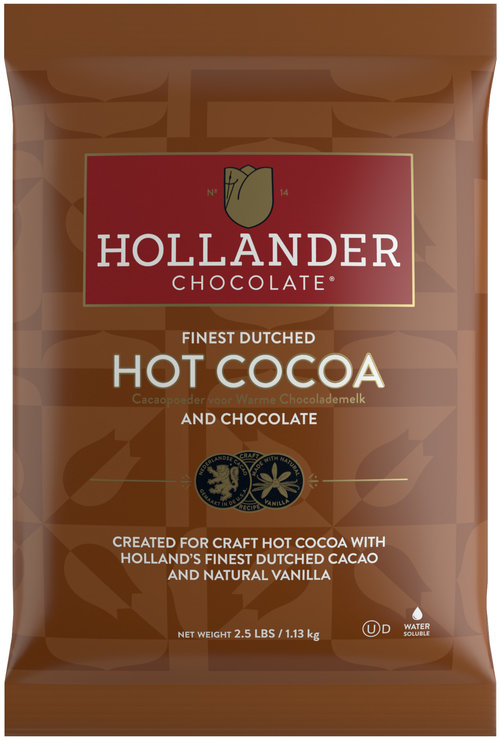 Hollander Chocolate Premium Hot Cocoa 2.5 lbs/Bag