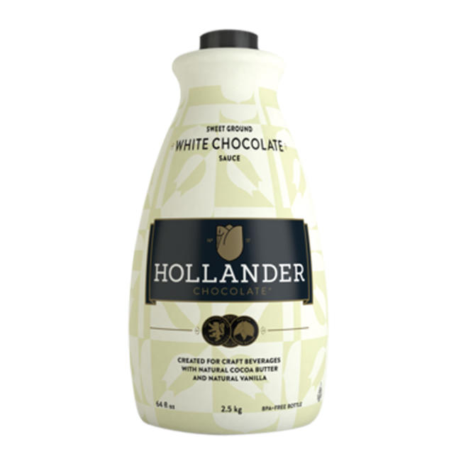 26-00613 - Hollander Barista Sweet White Chocolate Sauce 6/64oz
