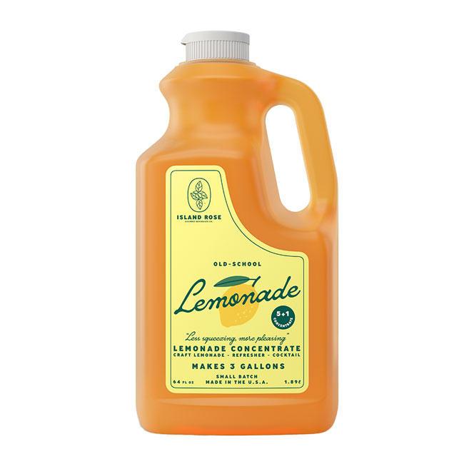 Island Rose Premium Lemonade Concentrate 4/64oz/cs