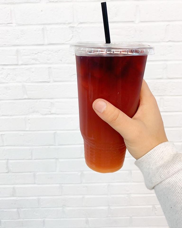 Mega-Tea Cup & Flat Lid Combo - Mega 32oz Size 1,000 ct