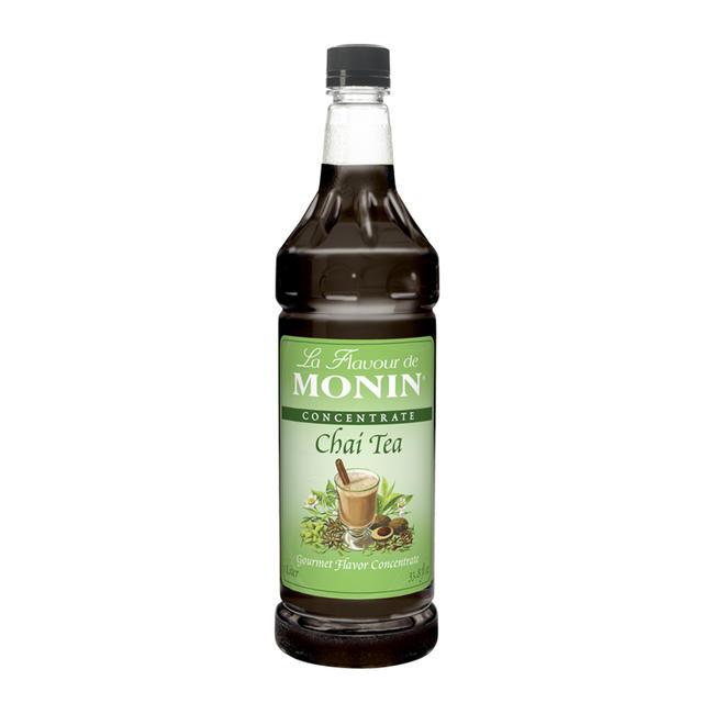 Monin Chai Tea Concentrate PET 1-Liter Bottle