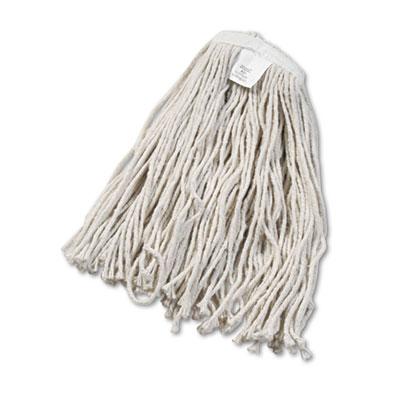 Boardwalk Cut-End Wet Mop Head Cotton No. 20 White
