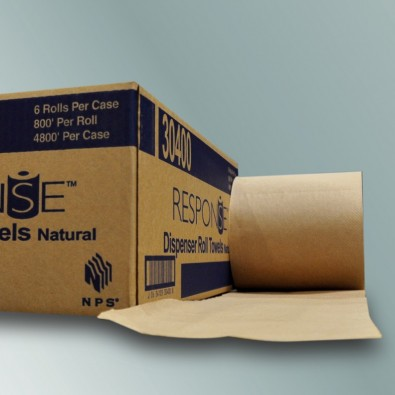 18-572805 - NPS 30400 - Kraft Roll Towel 6/8x800/Case