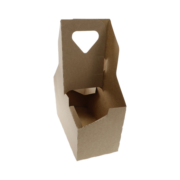 Pactiv Cup Carrier Up to 44 oz Two to Four Cups 250/Carton