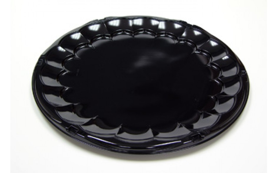 Pactiv 16 Black Party Tray - 50ct