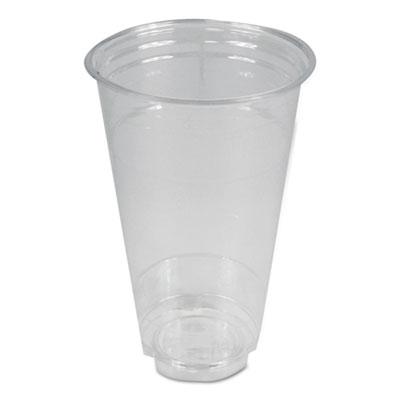 Clear Plastic Cold Cups 24 oz PET 600/Carton