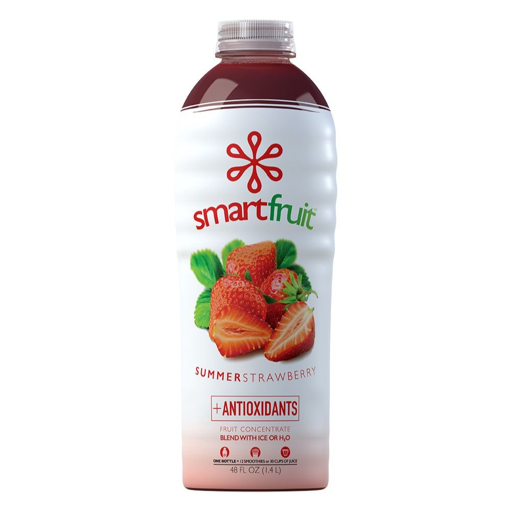 26-SFSS48 - Smartfruit Summer Strawberry Fruit Puree 48 oz