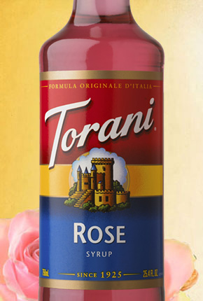 Torani Rose Syrup 750 ml