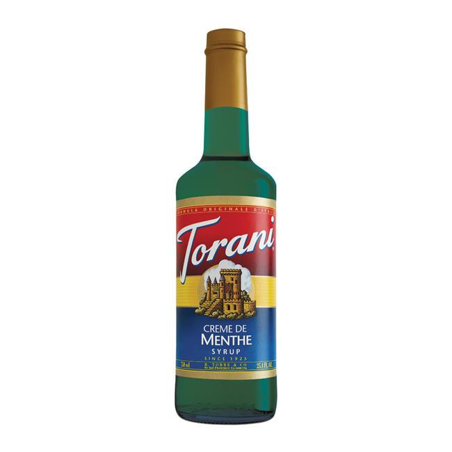 Torani Creme De Menthe Syrup 750 ml